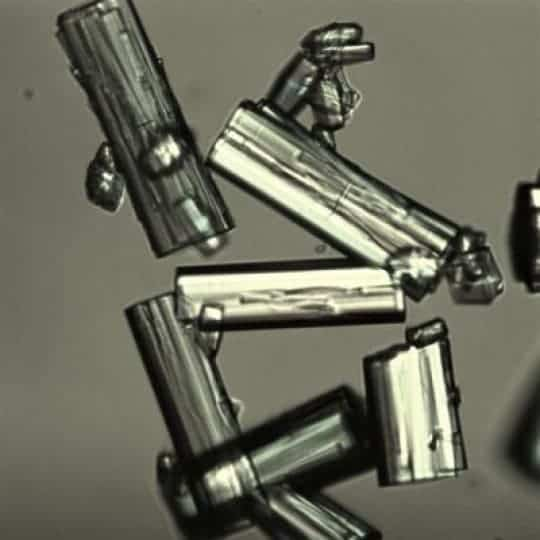 MOF-303 crystals.