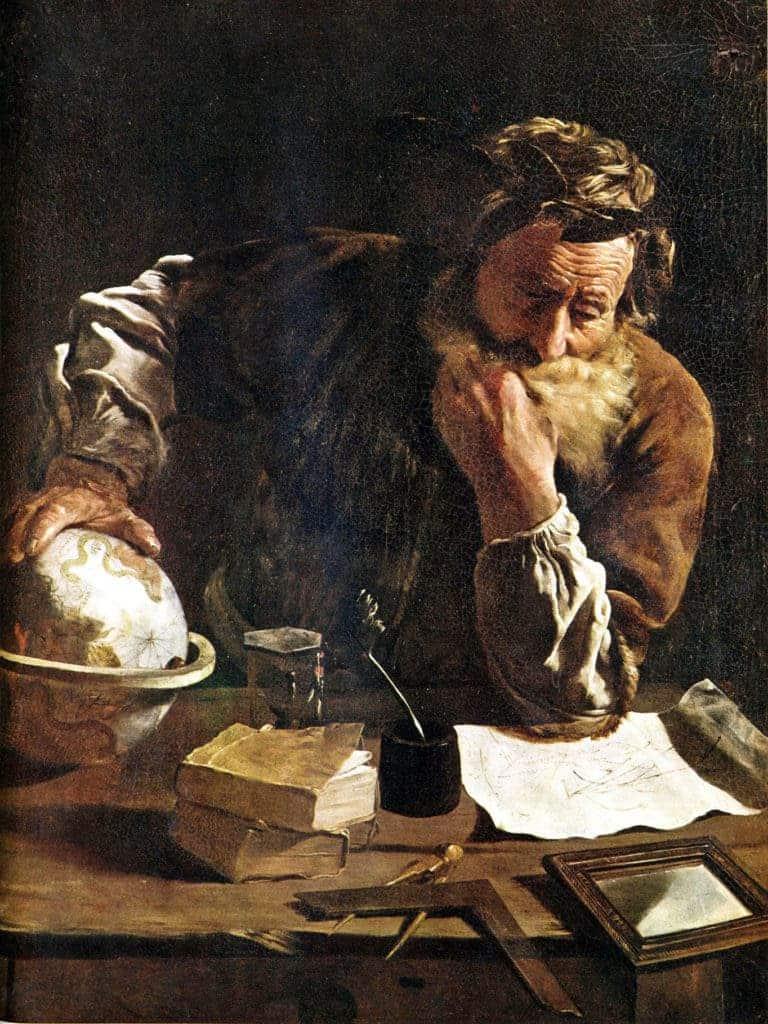 Domenico Fetti Archimedes.