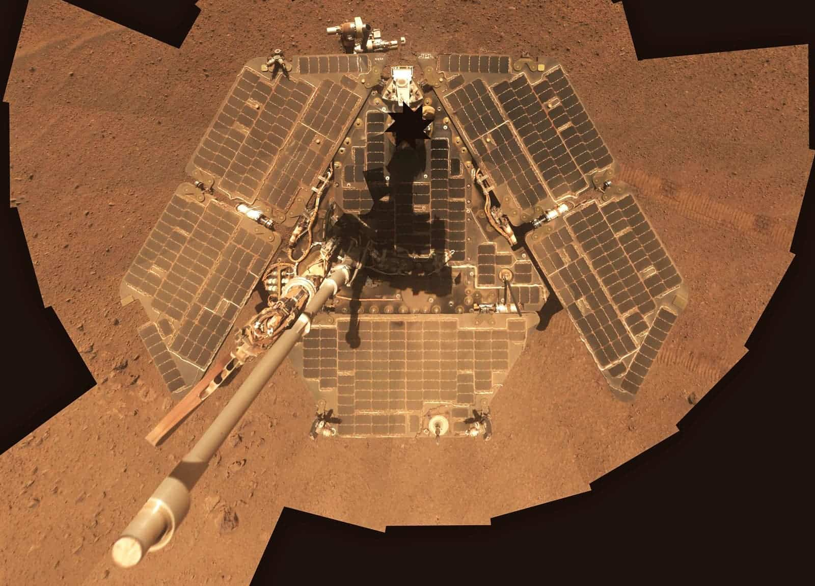 Opportunity rover goes dark during Mars dust storm