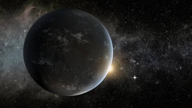 Illustration of an exoplanet. Credit: NASA.