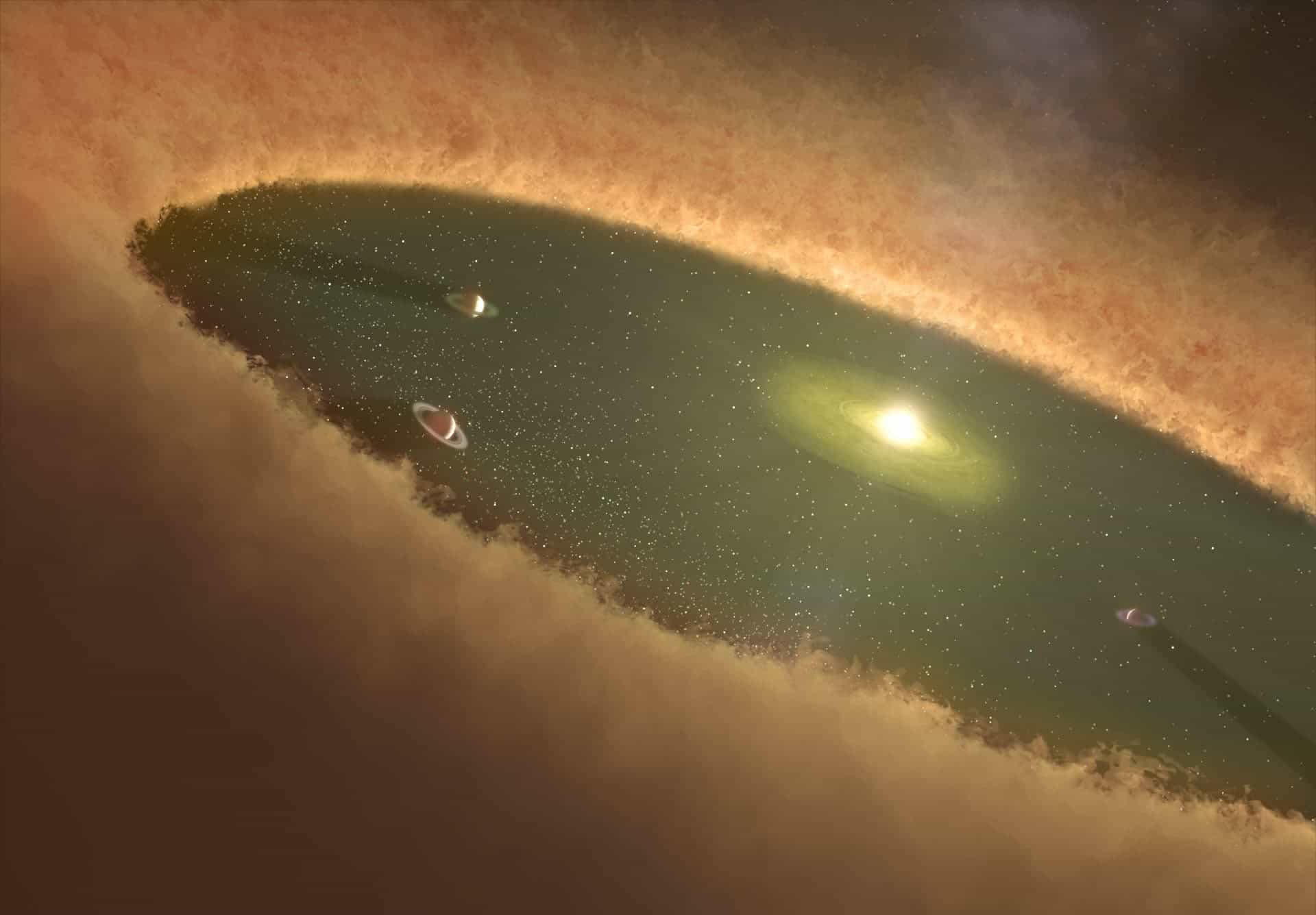 Study finds early interstellar dust that originated the planets