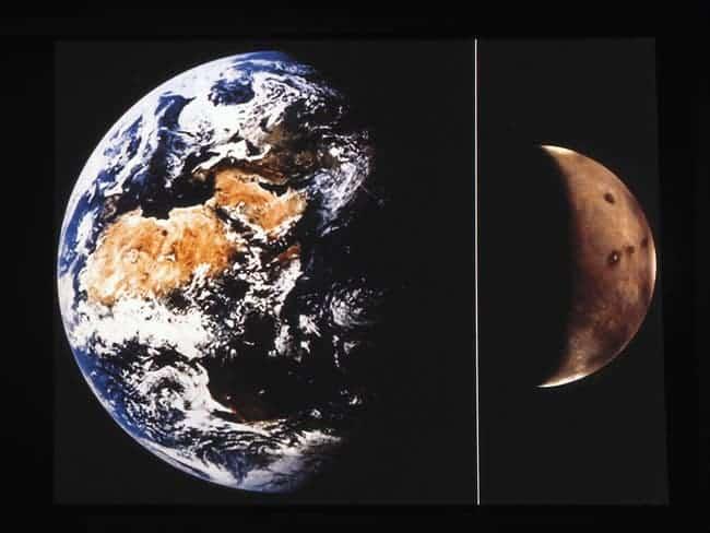 Mars-Earth.