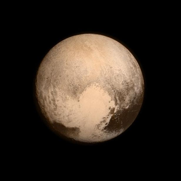 Pluto's Sputnik Planitia. Credit: NASA.
