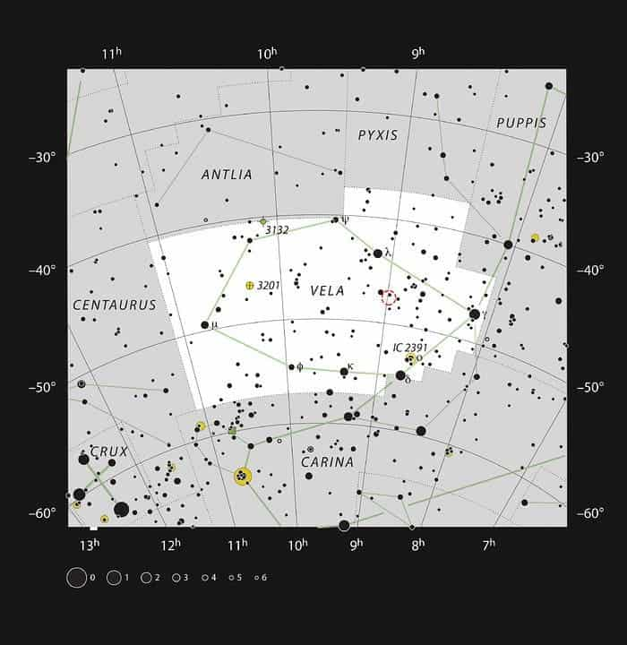 Vela constellation, RCW 38.