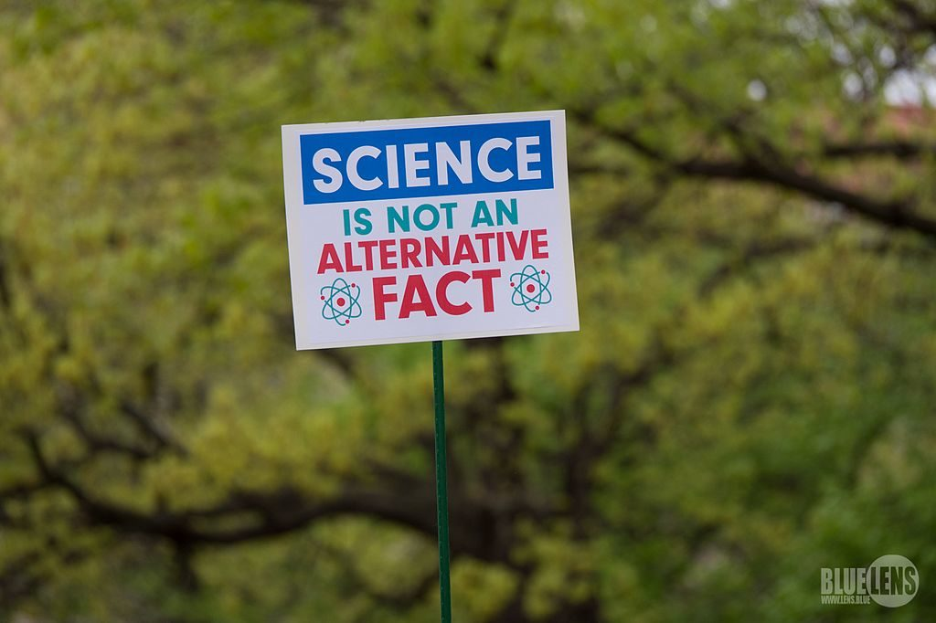 Science March in Pittsburgh, Pennsylvania.