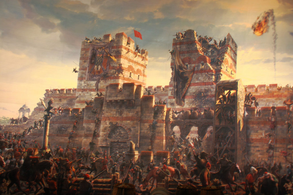 Fall of Constantinople.