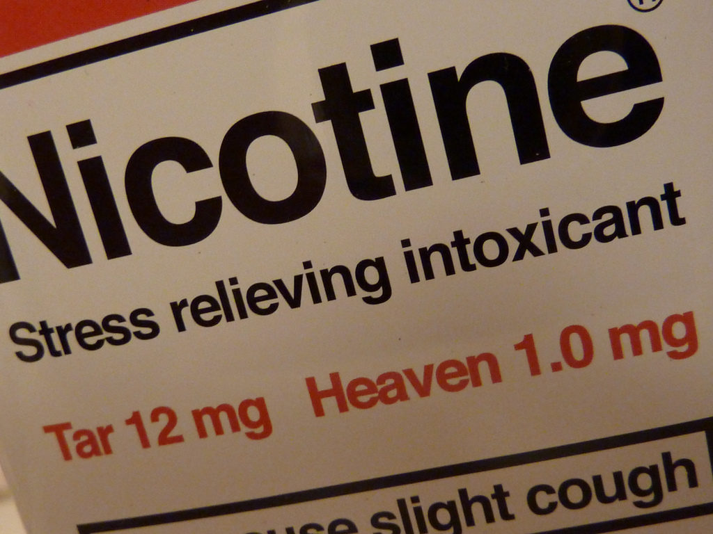 Nicotine.