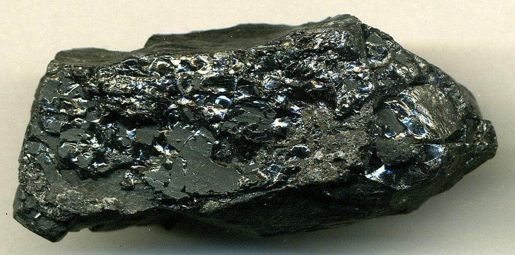 Bituminous coal.