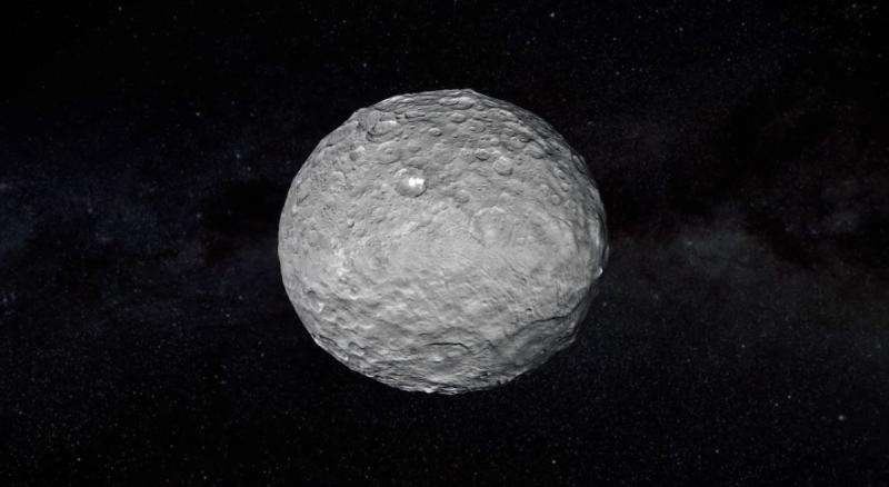 Ceres. Credit: NASA/Jet Propulsion Laboratory.