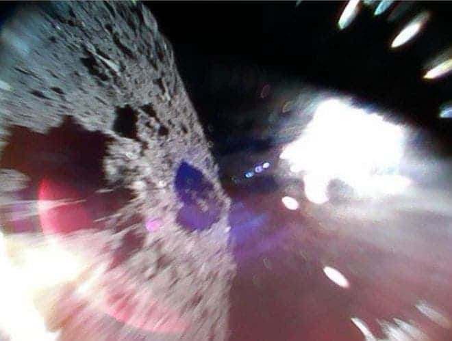 Japans robot rovers lands on asteroids surface, captures incredible photos