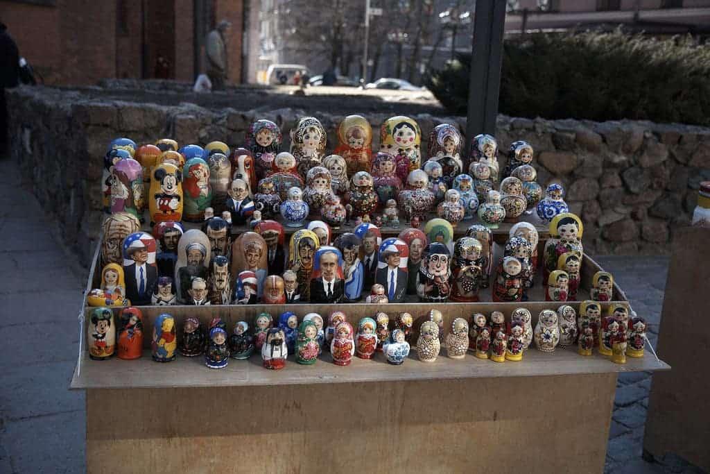 Matrioska dolls.
