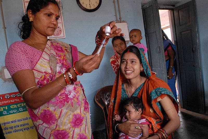 Odisha vaccination.