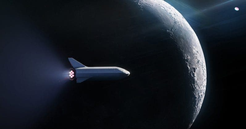 SpaceX Has Signed Its First Passenger to Fly Around the Moon