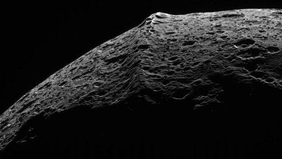 Saturn's moon Iapetus might in theory have its own submoon