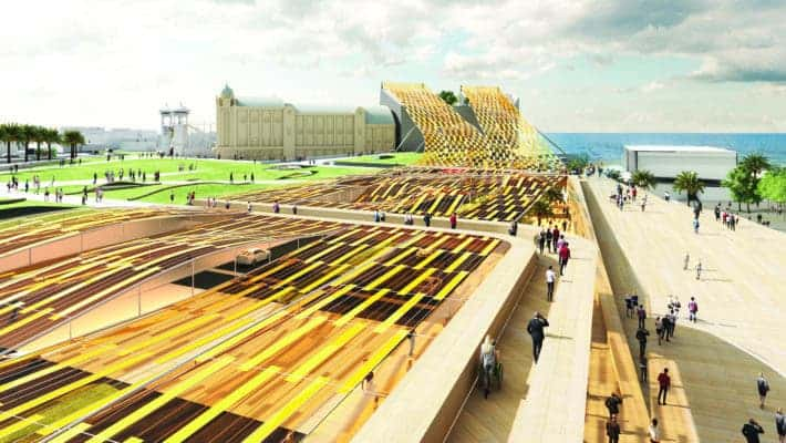 Credit: 2018 Land Art Generator design competition for Melbourne.