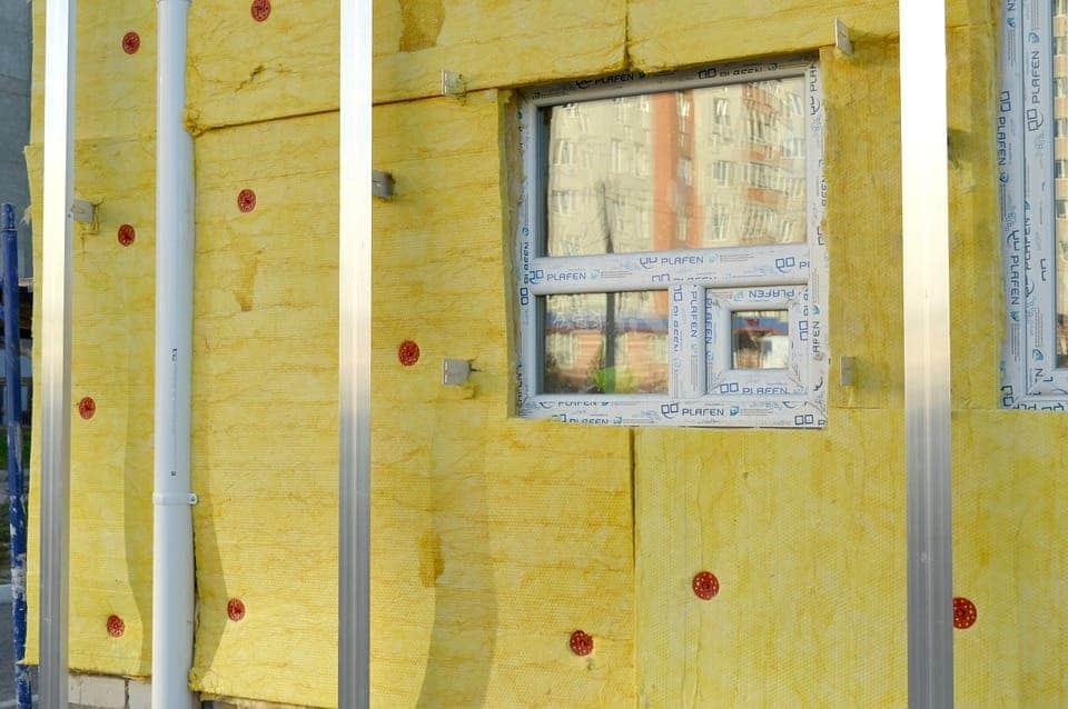 Wall insulation.