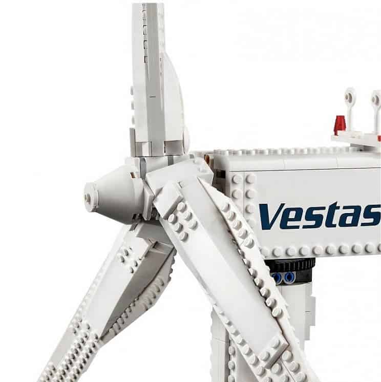 LEGO launches functioning wind turbine model to promote