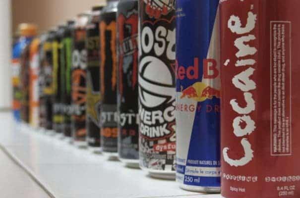 Energy drinks.