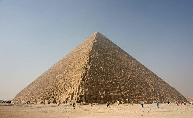 Great Pyramid of Giza. Credit: Wikimedia Commons.