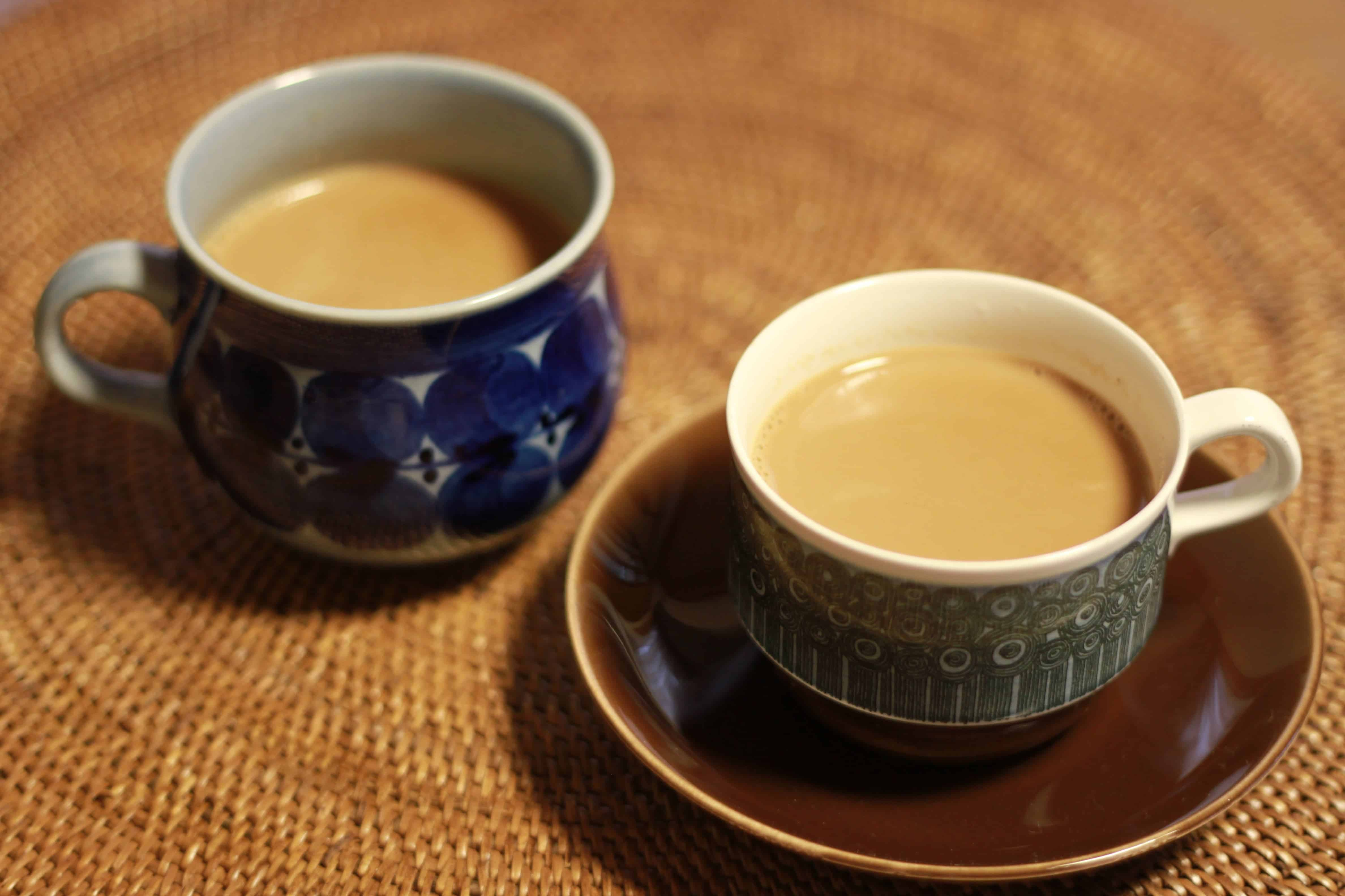 Whether we are tea or coffee drinkers likely decided by genes