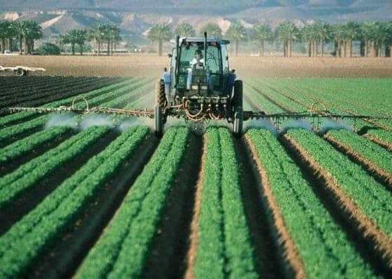 Farmer pesticide.