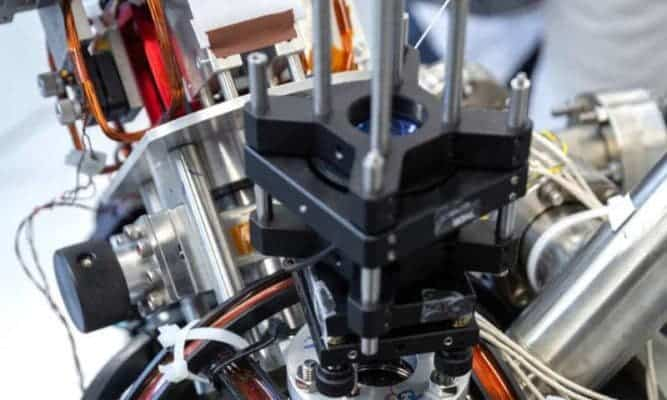 Close-up of the 'quantum compass'. Credit: Imperial College London
