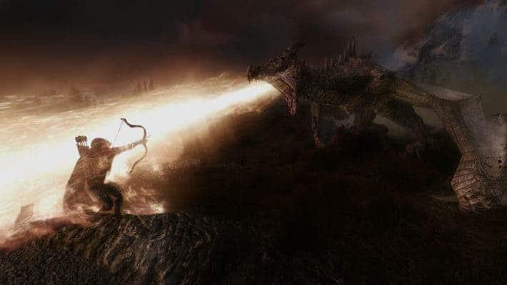 Dragon fight.