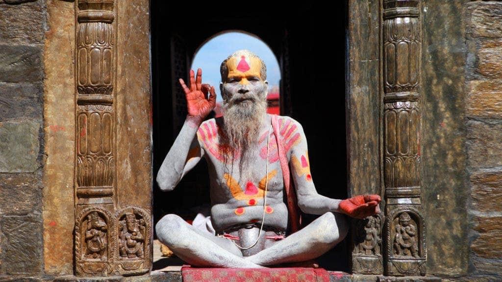 Shaman kathmandu nepal.