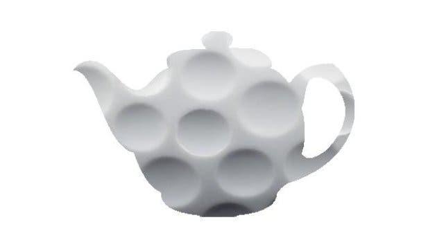 Teapot golfball.