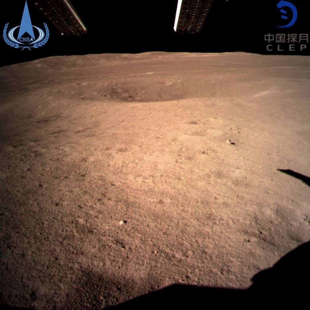 This is what the dark side of the moon looks like from ground level. Image credits China Global Television Network
