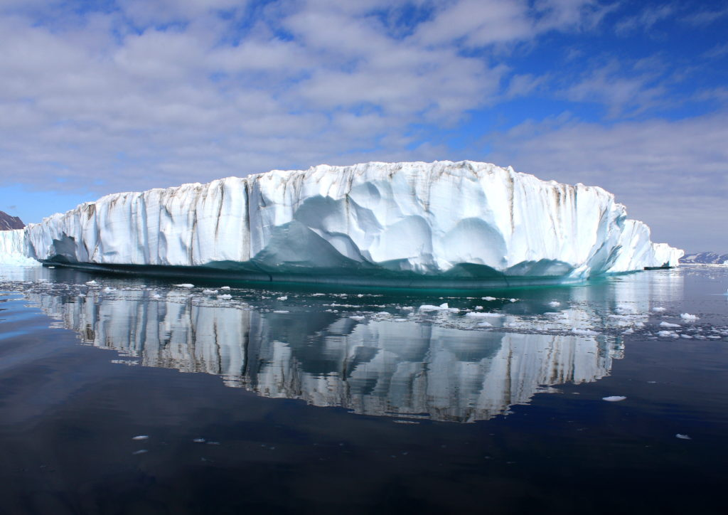 Greenland's Ice Sheet. Credit: Wikimedia Commons.