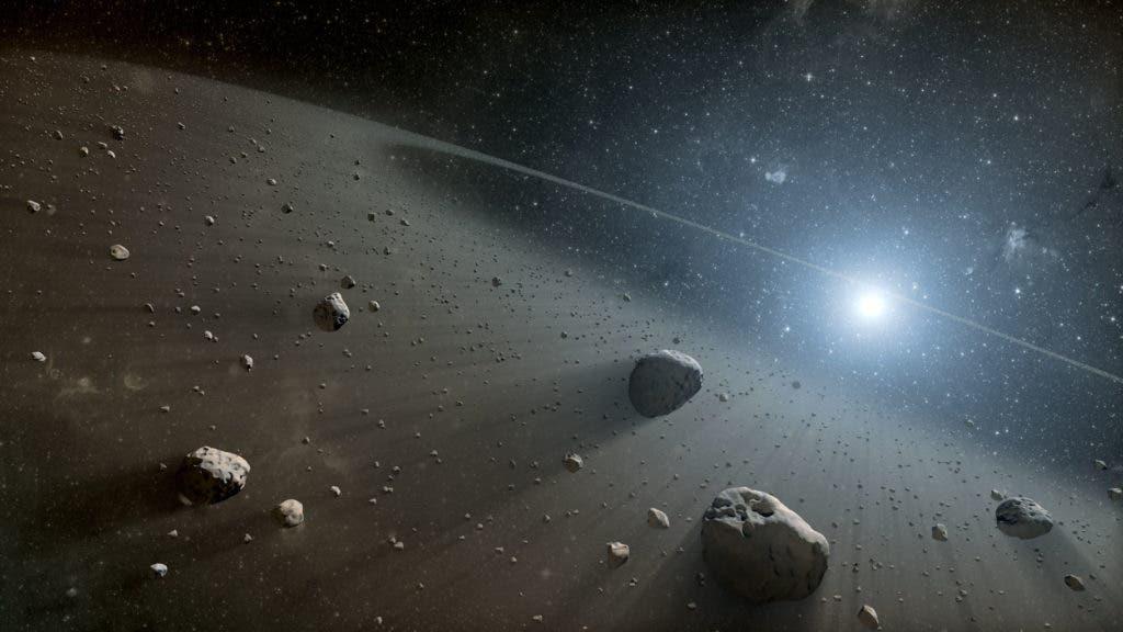 Vega asteroids.