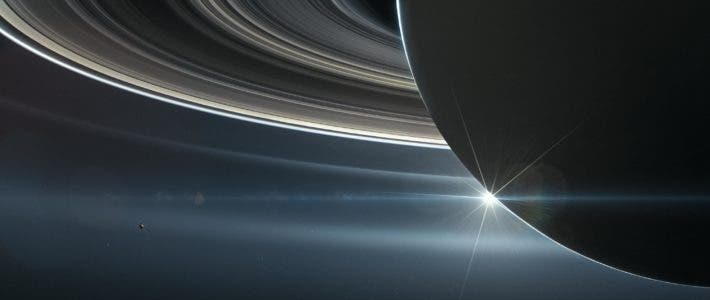 Saturn Illustration.