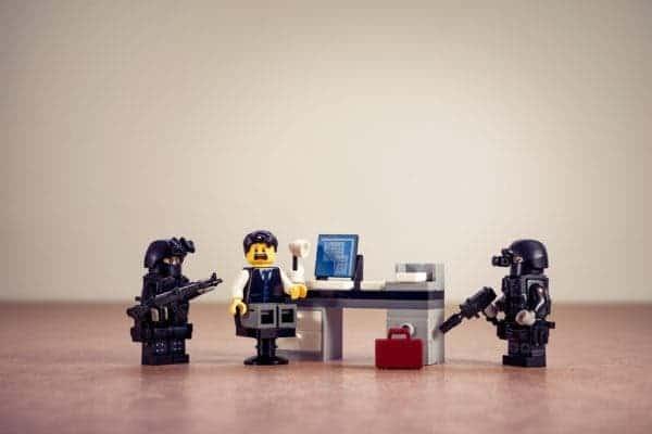 Lego police.