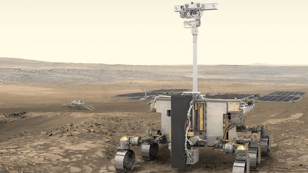 Rover that will search for life on Mars named after Rosalind Franklin