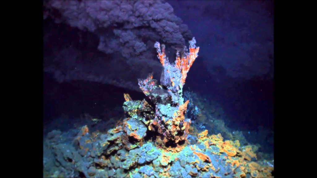 Example of hydrothermal vent. Credit: Wikimedia Commons.