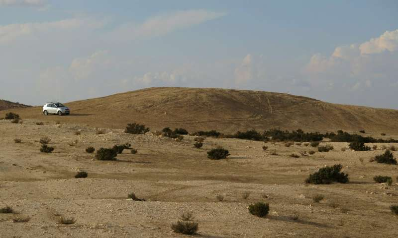 Elusa trash mound.