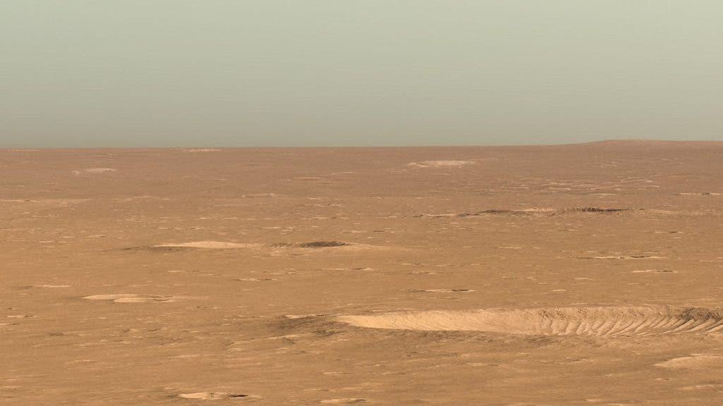 Mars landing.