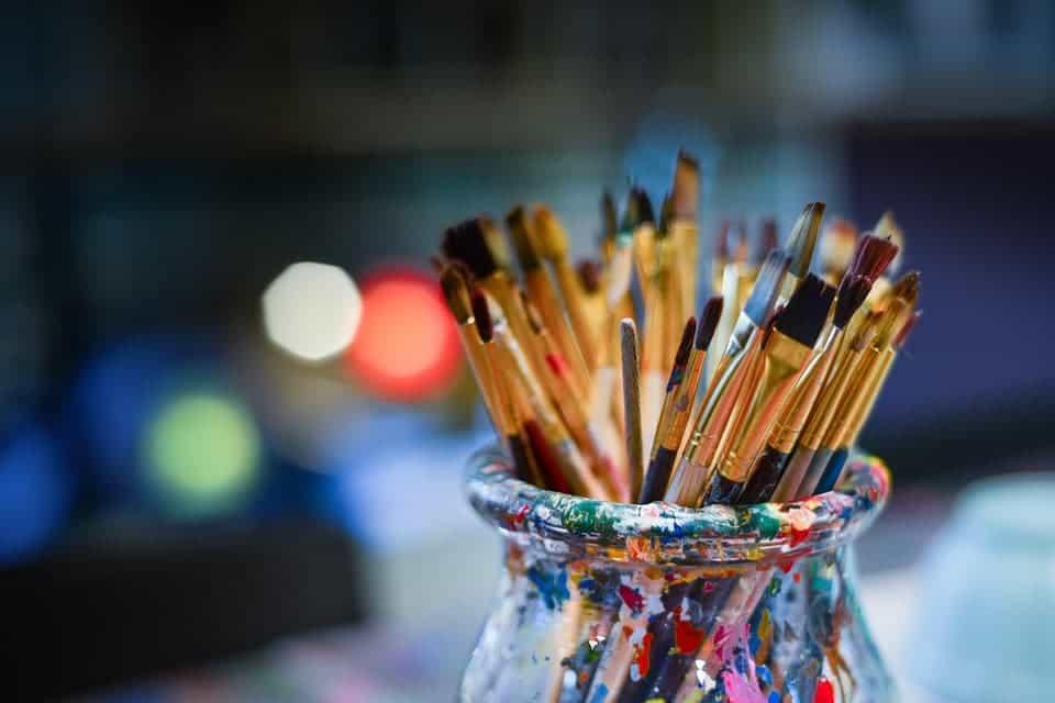 Brushes.