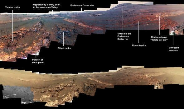 That is Alternative final view from Mars - ZME Science - science, final, alternative