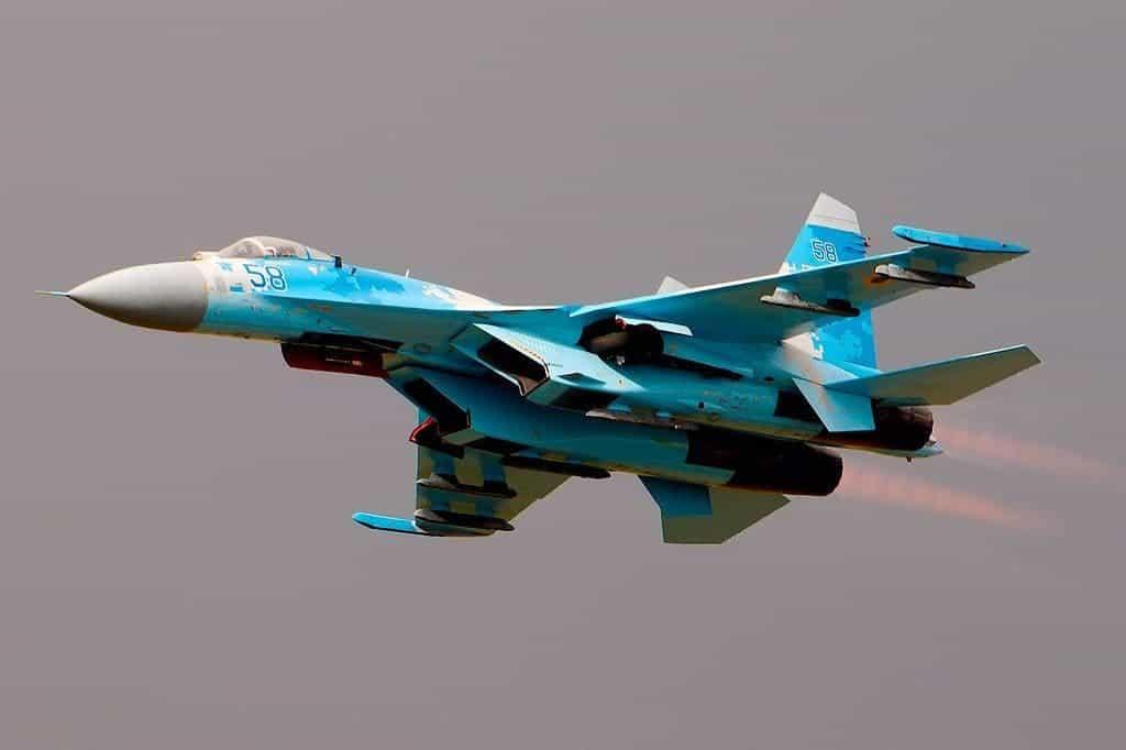 SU-27 RIAT.
