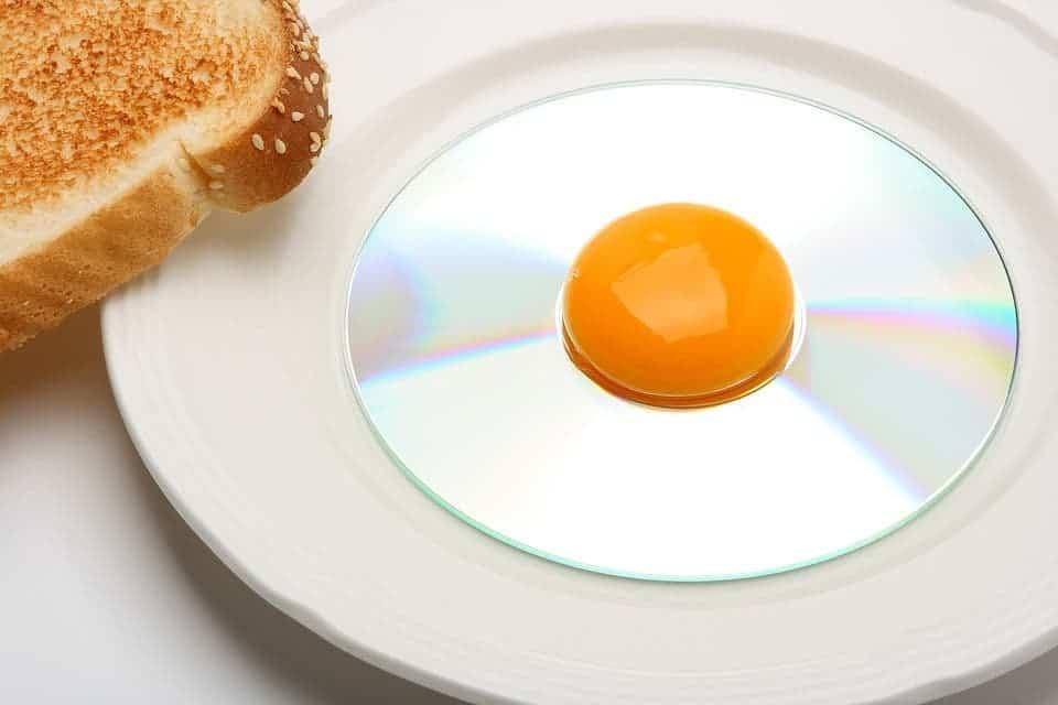 Fried CD.