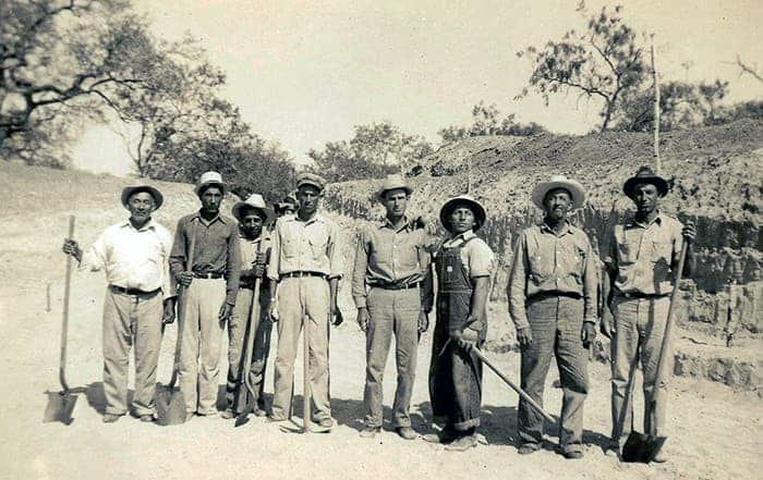 WPA workers.