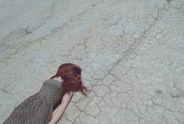 Fallen girl.
