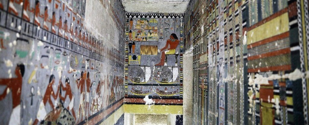 Tomb painting.