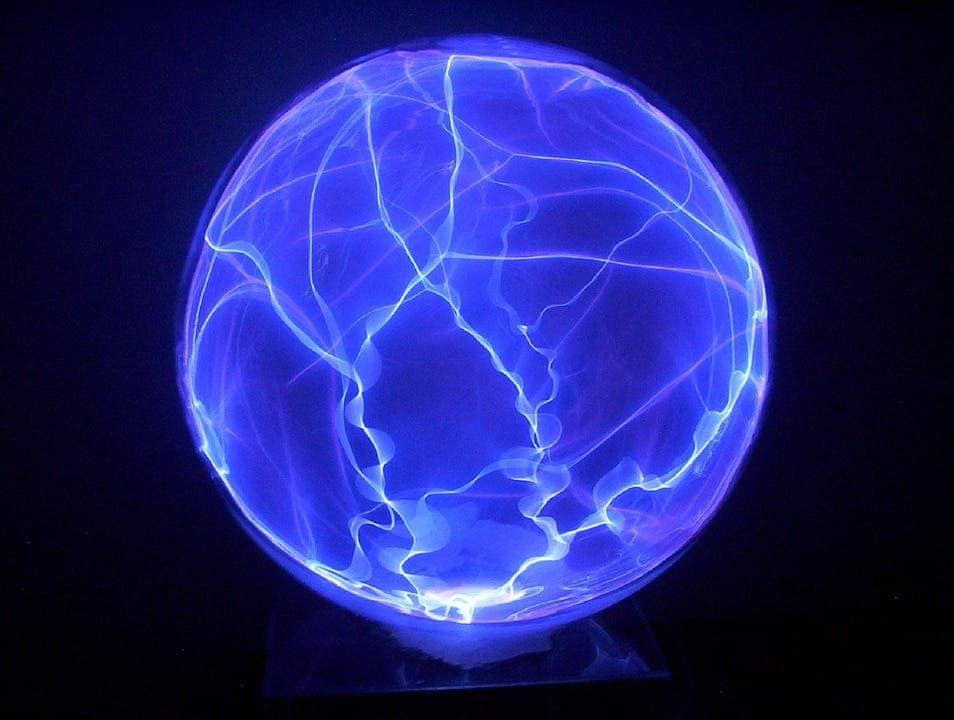 Plasma globe.