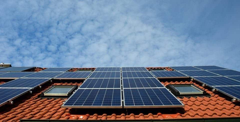 Solar roof.