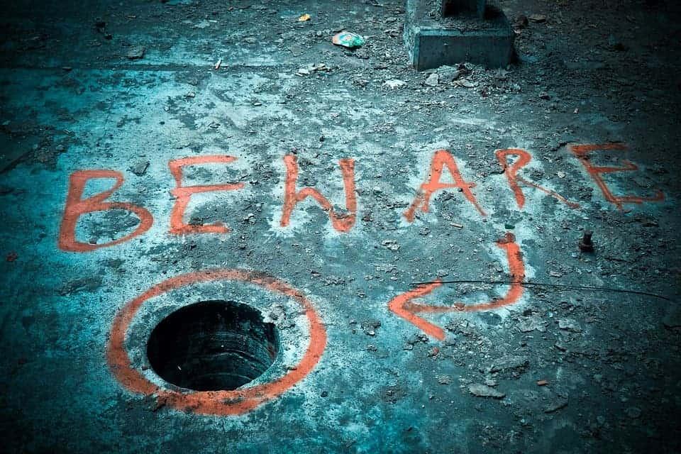 Beware.