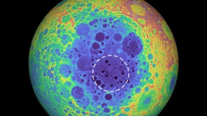 Moon anomaly.