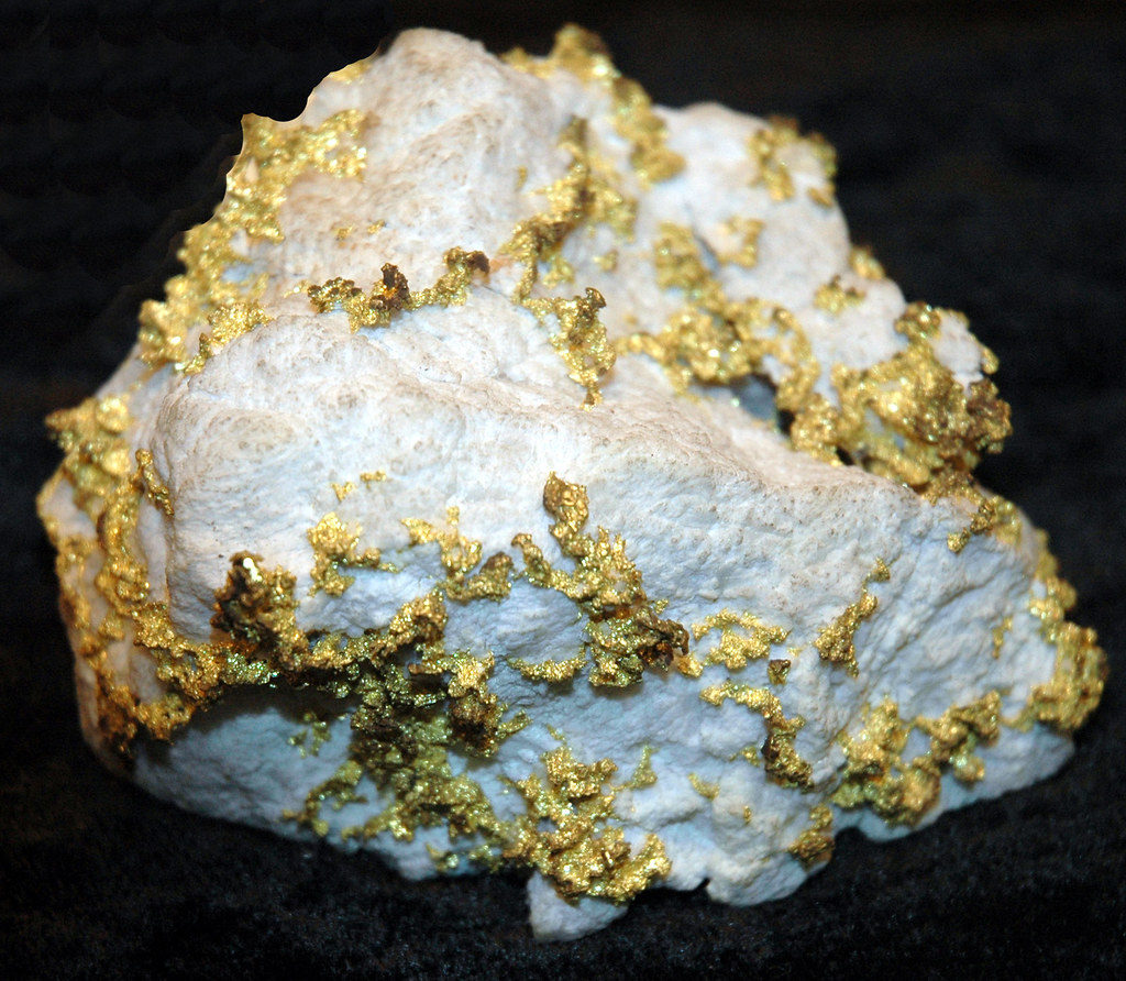 Gold rock.